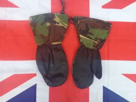 EX ARMY MILITARY GORTEX EXTREME COLD MITTENS